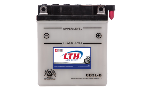 Batería de Motos LTH CB3L-B ofrecen alta capacidad y duración, son de fácil mantenimiento y ofrece una gran variedad de tamaños y capacidades