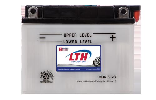 Batería de Motos LTH CB6.5L-B ofrecen alta capacidad y duración, son de fácil mantenimiento y ofrece una gran variedad de tamaños y capacidades