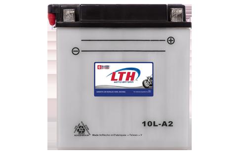 Batería de Motos LTH CB10L-A2 ofrecen alta capacidad y duración, son de fácil mantenimiento y ofrece una gran variedad de tamaños y capacidades